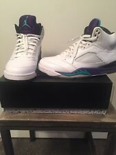 2013 Air Jordan V 5 Retro White Grape size 9.5 Nike