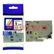 Brother TZ-221 P-Touch Compatible Black on white Label Tape 9mm 8m TZe-221