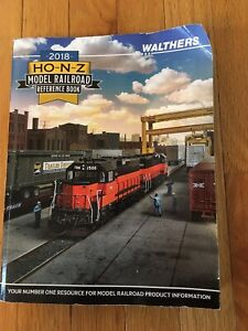 2018 Walthers HO-N-Z Model Railroad Reference Book / Catalog