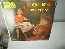 POLKA PARTY - FRANKIE PAUL rare Vinyl Lp AAMCO Records Excellent Vinyl
