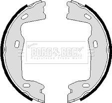 Handbrake Shoes Set fits SAAB 9-5 YS3E 97 to 09 Hand Brake Parking B&B 90512907