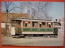 AK Ansichtskarte Postkarte Straßenbahn BVG Berlin Beiwagen 808 - 1906/1987