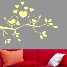 Love Bird Living Room Decoration Vinyl Wall Decal Stickers, Easy Peel & Stick