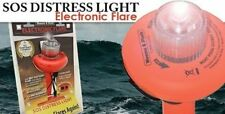 SOS Electronic Flare Visual Distress Flag LED Light Signal Device USCG Approved