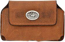 Rocky Light Brown Smartphone Holder Item Rbp114 Authentic Pebble Grain Leather
