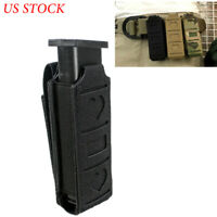 Tactical MOLLE Single Magazine Pouch Pistol Magazine Holster Belt Tool Pouch