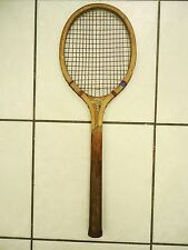 ANTIQUE 1920's / 30's N.J.MAGNAN CORP. 'MASCOT' JUNIOR ' WOOD TENNIS RACQUET