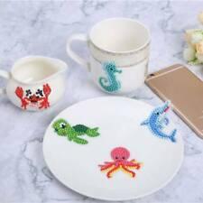 19Pcs Animal Diamond Painting Kids 5D Stickers Kit Animal Painting for Beginners