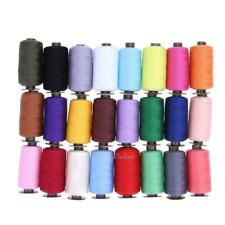 24 Colors 1000 Yard Polyester Embroidery Sewing Machine Hand Stitching Threads