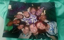 Adam Lambert+Cast Signed 8X10 Photo American Idol Season 8 Top 10 #2 W/Coa+Proof