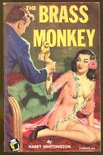 The Brass Monkey by Harry Whittington-Vintage Handi-Books PB Origional-1951