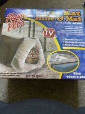Kitty kat hide and mat cat bed
