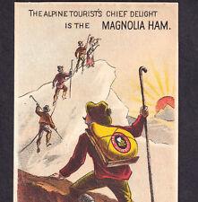 Feminist Trailblazer 1870's Mountain Climber Magnolia Ham Louisville Trade Card