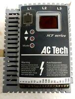 AC TECH SF450 Variable Frequency Drive 5HP 400/480V 50/60HZ 3PH