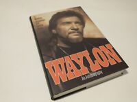 WAYLON By Lenny Kaye 1996 1st edition, first printing - AUTOGRAPHED- Hardcover
