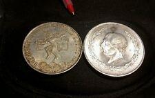 1968 Mexican Silver 25 Pesos Olympics & 1953 5 Pesos Silver lot of 2