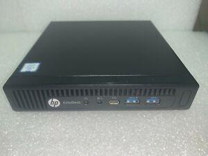 HP EliteDesk 800 G2 DM Mini Computer i5-6500T 2.5Ghz 8GB 128GB SSD Win10