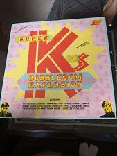 New listing RARE SEQUEL VINYL LP SUPER K'S BUBBLEGUM EXPLOSION NEXLP 113 MINT SLIGHT WARP??