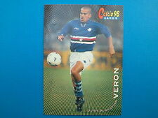 Panini Calcio Cards 98 n. 86 Juan Sebastian Veron Sampdoria