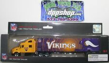 NFL Minnesota Vikings Peterbilt tractor trailer die cast 1:80 football replica