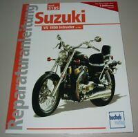 Reparaturanleitung Suzuki VS 1400 Intruder ab Baujahr 1987 Reparatur Buch NEU!