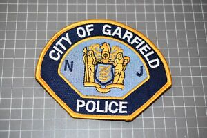 City Of Garfield New Jersey Police Patch (US-Pol)