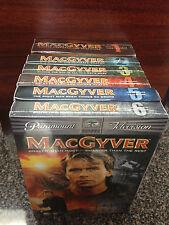 MacGyver TV Series- Seasons 1, 2, 3, 4, 5, 6 NEW Sealed Paramount Television