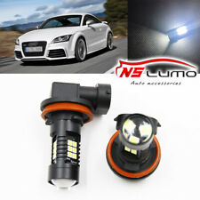 2x Canbus H11 3030 21SMD LED DRL Daytime Running Fog Lights Bulbs For Audi TT RS