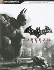 Batman: Arkham City Signature Series Guide (Bradygames Signature-ExLibrary