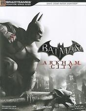 Batman: Arkham City Signature Series Guide Bradygames Signature Guides