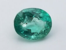 2.3 Carats Oval Pansheri Emerald -Excellent 10X Loupe Clean Gemstone