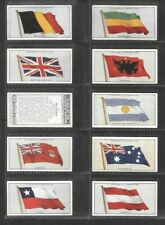 "PLAYER 1928 ( FLAGS ) FULL 50 CARD SET """"  FLAGS OF THE LEAGUE OF NATIONS  """""