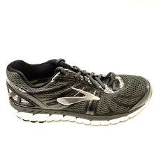 28e97b6d6d9 Brooks Mens Size 9.5 Beast 18 Black Road Running Comfort Trail Athletic  Shoes