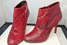 ANIMALE leather snake shoes ankle heels UK4 EU 37 poshmark