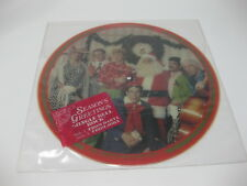 "Daryl Hall John Oates Jingle Bell Rock Vinyl 12"" Picture Disc Seasons Greetings"