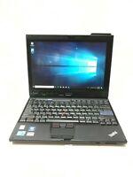 Lenovo ThinkPad X201 Tablet - Core i5 520UM 4GB RAM 128GB SSD – Win 10 Pro