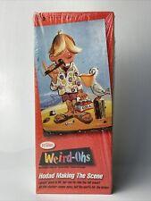 Vintage 1994 Testors Weird Ohs Hodad Making The Scene Model Kit #743 Ages 8 Up