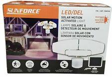 Sunforce Solar Motion Security Light LED/DEL, NEW OPEN BOX