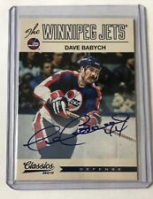2012-13 Panini Classics Signatures Autograph Dave Babych Auto #146