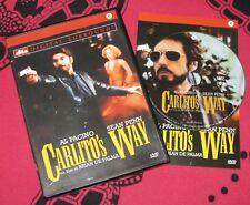 Carlito's Way - Al Pacino, Sean Penn (DVD; 1993) VENDITA *BUONO*.