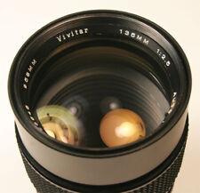 Vivitar 135mm f2.5 Manual Focus lens for Pentax K mount Fast & Super Clean