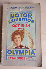 30th International Motor Exhibition, 1936, Catalogue, RAC cut-out bookmark