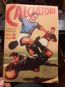 Album  calciatori  lampo 1959 60   completo  figurine  gia' incollate anastatico