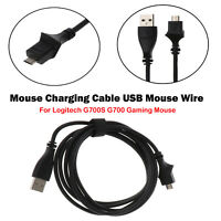 1* Mouse Charging Cable USB Mouse Wire For Logitech G700S G700 Gaming Mouse Part