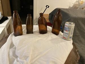 Vintage Budweiser Bottles And Can Antique