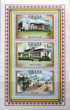 GHANA 1980 Block 85 S/S 727 3rd Republic Parliament House Parlament Gebäude MNH