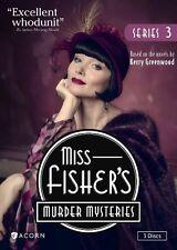 Miss Fisher's Murder Mysteries Series 3 Season Three R4 DVD New Fishers