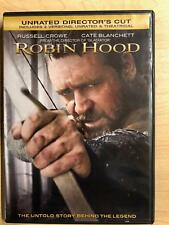 Robin Hood (DVD, 2010, Unrated Directors Cut) - E0909