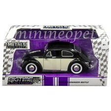 JADA 99053 1959 VW VOLKSWAGEN BEETLE 1/24 2-TONE BLACK with BABY MOON WHEELS
