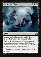 *MRM* ENG 4x Gisa's Bidding - Ordre de Gisa MTG Shadow of ini